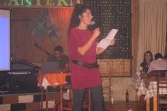 Καλωσόρισμα από την υπεύθυνη δημοσίων σχέσεων Ειρήνη Μυλωνά 01/2009